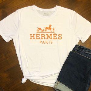 Inspired Paris T-shirt Horse